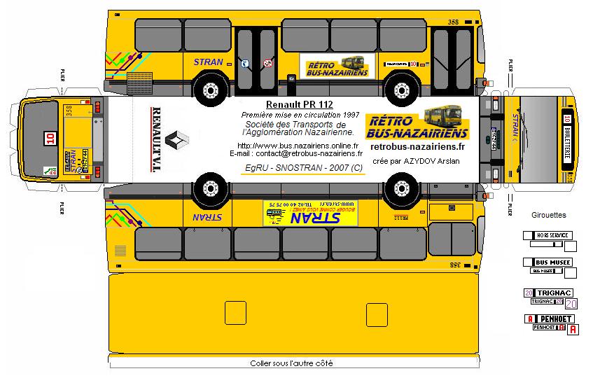 Paper-Bus - PR 112 - Rétro Bus Nazairiens